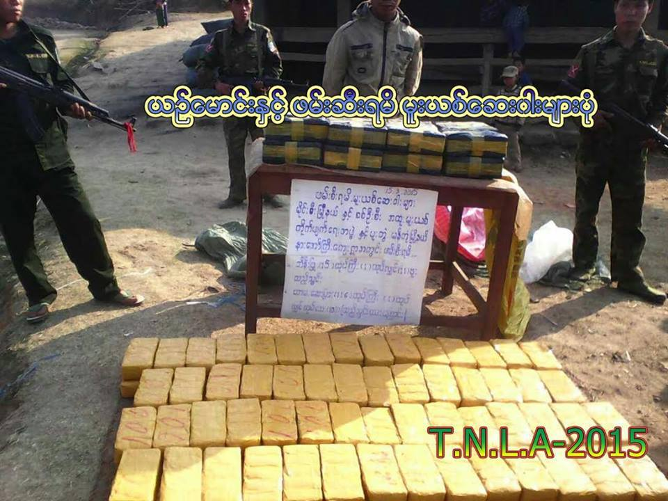 Heroin and Yaba seized by TNLA